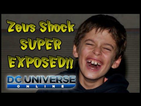 DCUO: MUST SEE!!! Zeus Shock SUPER EXPOSED!!!