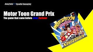 Special Gameplay Video: Motor Toon Grand Prix (1994, PSX)