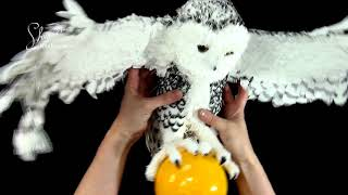 Презентация мастер класса Полярная сова фом арт  фоамиран  fofuchas
