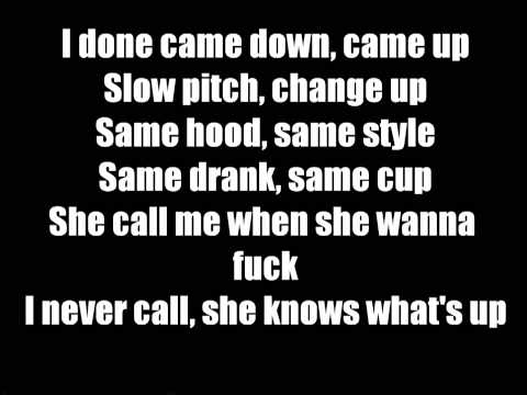 Kirko Bangz - Drank In My Cup (Lyrics)