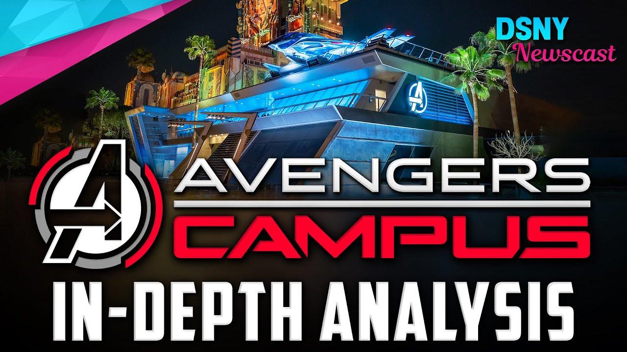 Disneyland's AVENGERS CAMPUS Marvel-themed Land | In-Depth Analysis - Disney News - June 10, 2021
