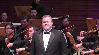 """Scott Dunn conducting Puccini """"E lucevan le stelle"""" from Tosca with Bruce Sledge, tenor"""