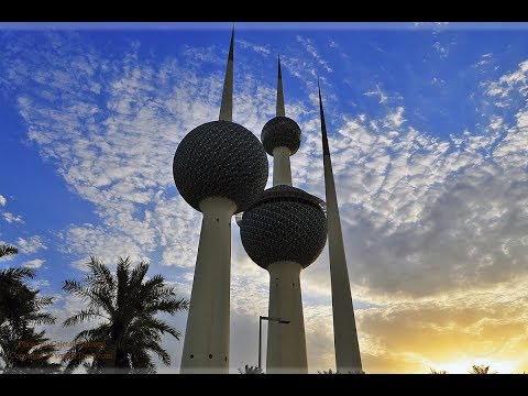 Happy New Year 2019 || Last vlog of 2018 / long drive to Kuwait Tower/ Kuwait الكويت Lifestyle