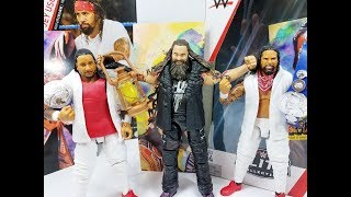 WWE Elite 54 Bray Wyatt & Usos Figure Review
