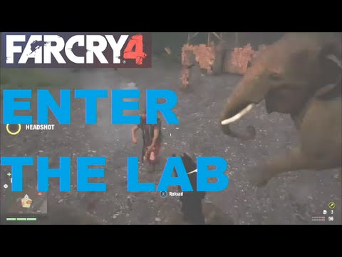 Far Cry 4 Enter the Lab/Unlock the laboratory door (Walk Through) FAST & EASY