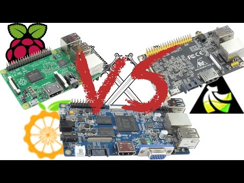 Raspberry Pi 2 VS Orange Pi VS Banana Pro