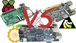 Raspberry Pi 2 Vs Orange Pi Vs Banana Pro