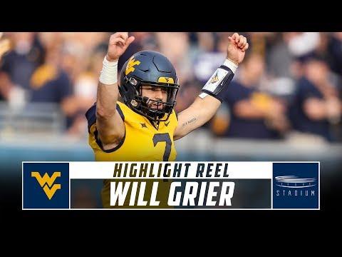 Will Grier West Virginia Football Highlights - 2018 Season | Stadium