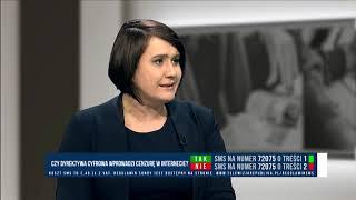 ANNA MARIA SIERAKOWSKA - CZY GROZI NAM CENZURA INTERNETU?
