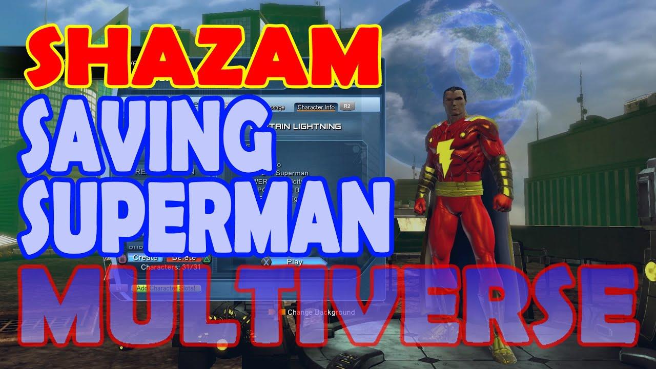 Download DCUO SHAZAM; Part 20 Marvel saves Superman