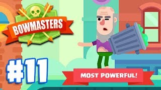 MOST POWERFUL CHARACTER - JEREMY | Bowmasters - Multiplayer Game Part 11 | All Characters