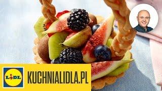Wielkanocne babeczki z owocami - Design Your Life i Paweł Małecki - przepisy Kuchni Lidla