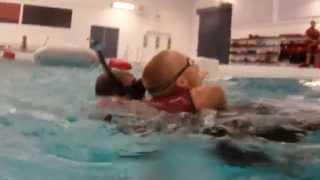 Coast Guardsmen Rescue Swimmer Training