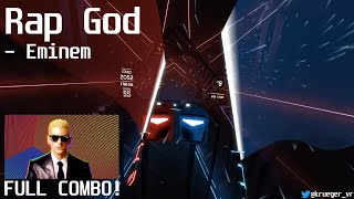 Beat Saber | Rap God (Explicit) - Eminem | SS Rank | FULL COMBO!