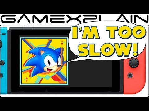 Download Youtube: Sonic Mania Switch Has a Home Screen Problem (YOU'RE TOO SLOW!)