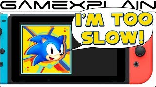 Sonic Mania Switch Has a Home Screen Problem (YOU'RE TOO SLOW!) thumbnail