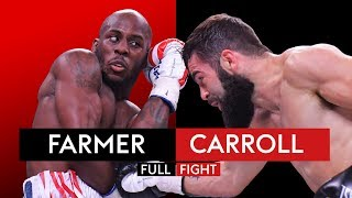 FULL FIGHT! Tevin Farmer vs Jono Carroll 👊