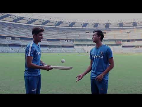 ICC Under 19 Cricket World Cup – The Cutting Edge Challenge