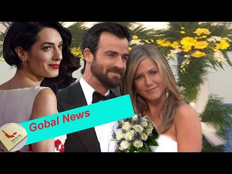 Amal Clooney says Jennifer Aniston is pregnant with Justin Theroux after divorce
