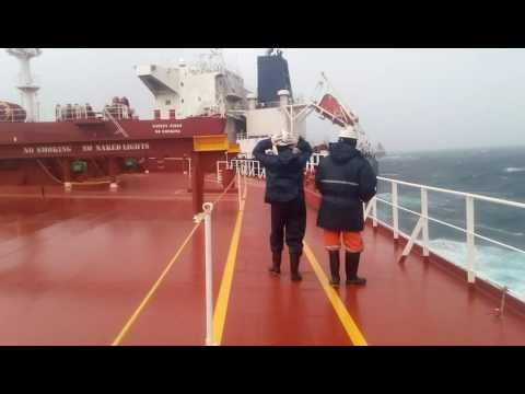 for epyang!! near collision!!cape size and panamax!