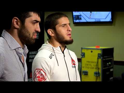 Islam Makhachev says he's learning English to 'promote myself'