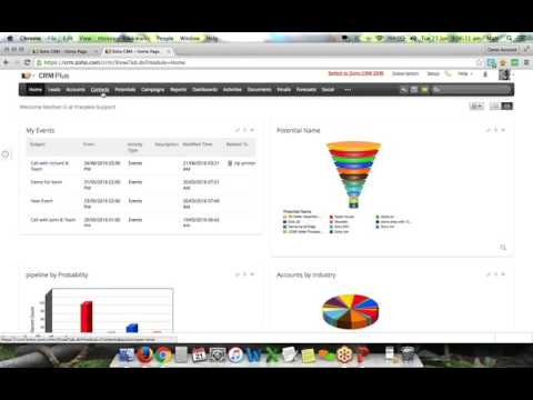 Zoho CRM complete product overview (June 2016)