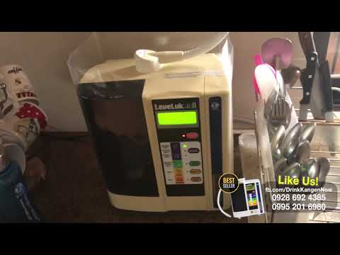 Kangen Water - 4 YEAR OLD   LIKE NEW!!! WATCH THIS!