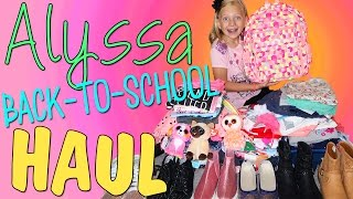 HUGE GIRLS BACK TO SCHOOL CLOTHING HAUL