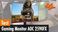 Test-Check Gaming Monitor AOC G2590FX [Freesync, 1080p, 1ms]