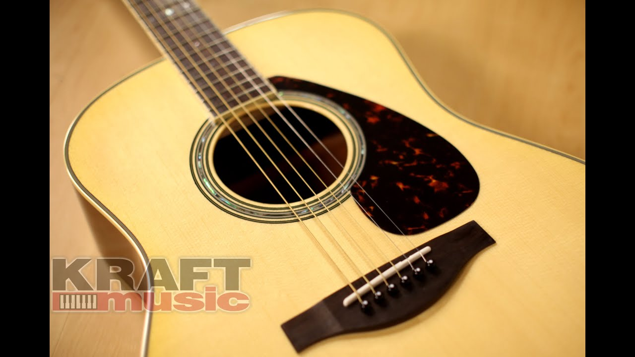 yamaha ll6 are handcrafted acoustic guitar demo youtube. Black Bedroom Furniture Sets. Home Design Ideas