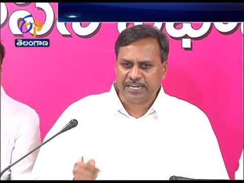 MLC Palla Rajeshwar Reddy Fires On Prof Kodandaram Unemployment Rally