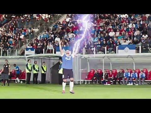 Lightning Strikes In Football Mp3