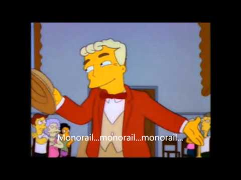 Simpsons monorail song speed up