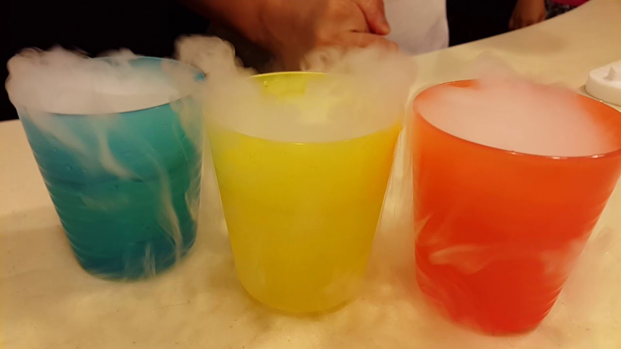 Dry Ice crazy fun smoke and sounds fun experiments for kids ...