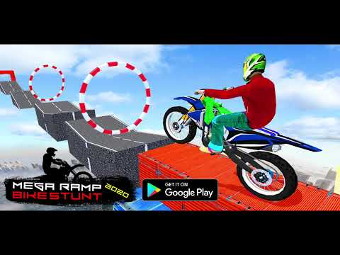 Mega Ramp Bike Impossible Stunt Race