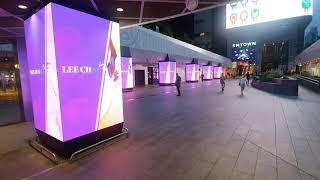 삼성역 코엑스 LED 기둥 아이즈원 광고영상입니다.