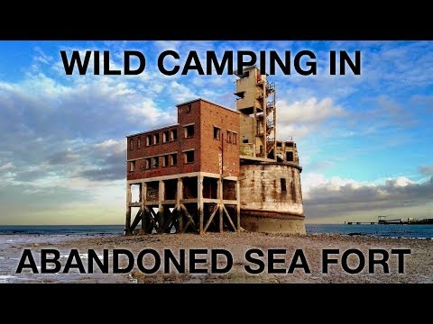 Wild Camp in Abandoned 1850's Fort
