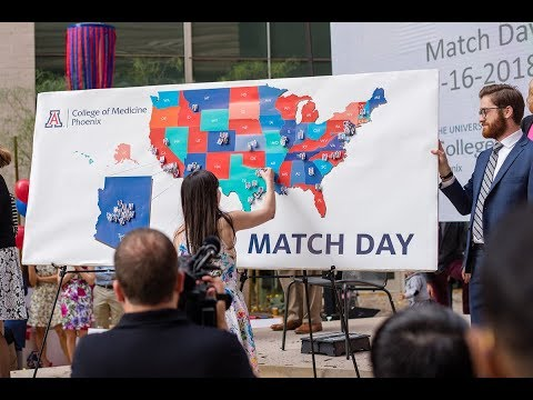 University of Arizona College of Medicine - Phoenix - Match Day 2018