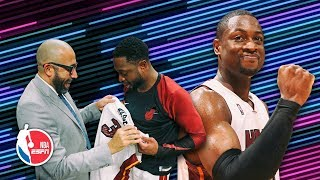 Did he just dunk on him like that?: Dwyane Wade stories w/ Fizdale & Windhorst | The Hoop Collective