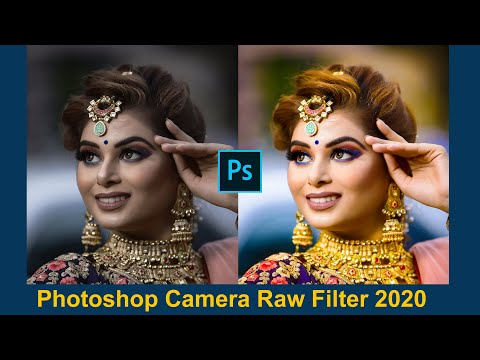 Photoshop Tutorial || Camera Raw Filter ||  2020