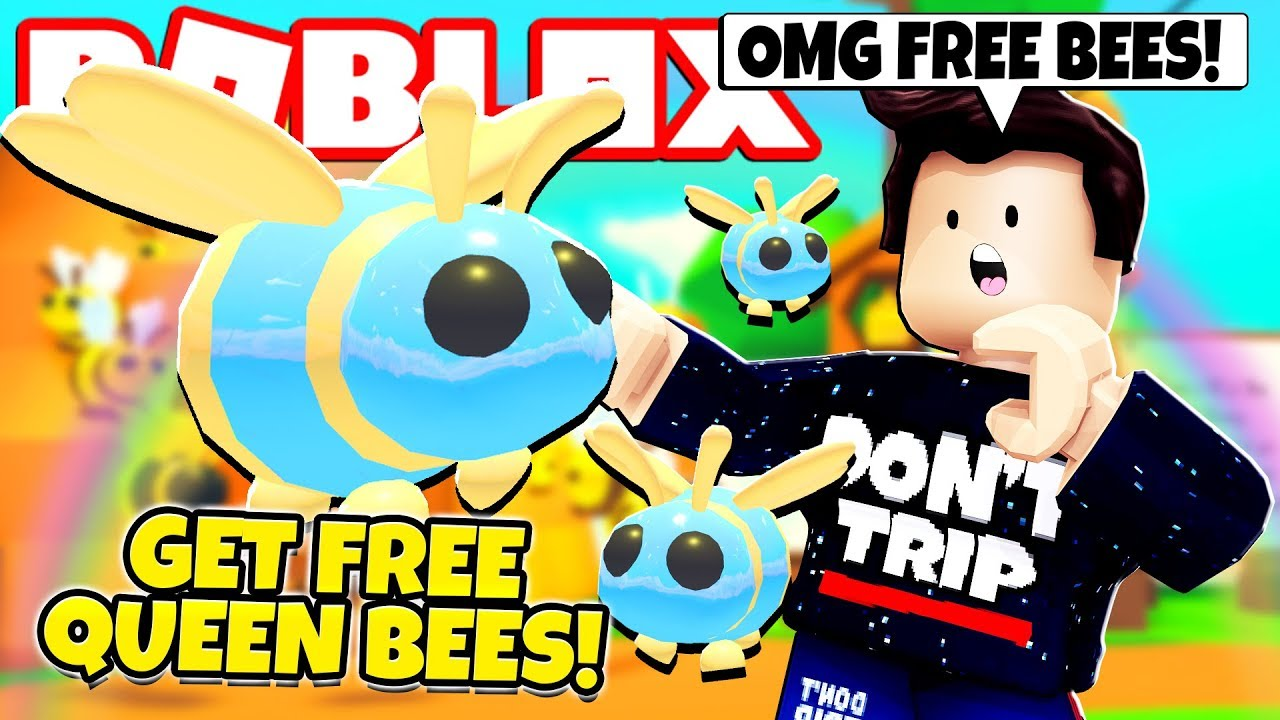 New Bee Update Roblox Adopt Me How To Get A Free Queen Bee In Adopt Me New Adopt Me Bee Update Roblox Youtube