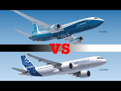 Airbus A320neo vs Boeing 737max ! 2015 (HD)