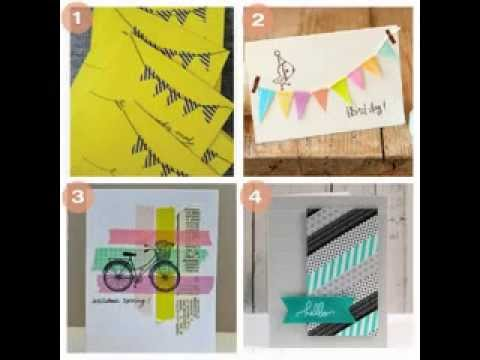 creative diy birthday card making ideas, Birthday card