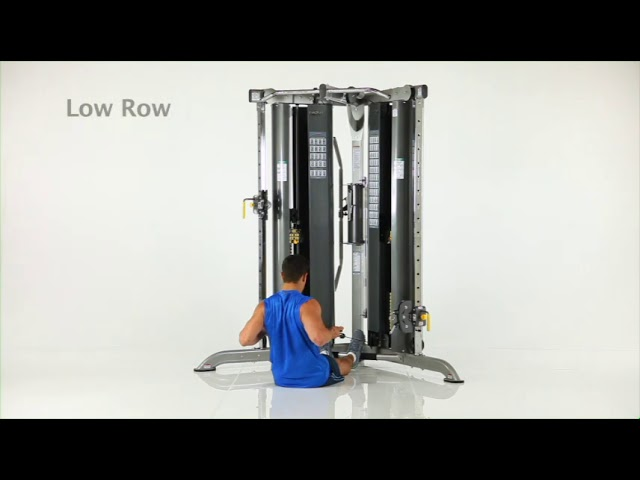 Back Exercises | CXT-200 Functional Trainer | TuffStuff Fitness