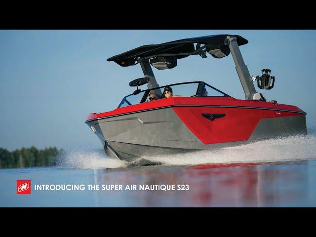 Introducing the 2022 Super Air Nautique S23