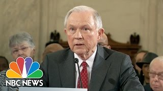 Diane Feinstein Questions Jeff Sessions on Abortion, Civil Rights Record | NBC News Free HD Video