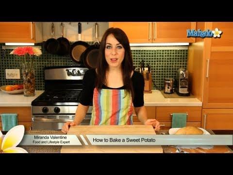 How To Bake Sweet Potato