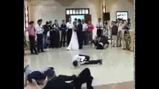 Вот это Свадьба!!! Танец жениха и невесты! ПРИКОЛЫ 2013 Декабрь 18+ FAIL Compilation December