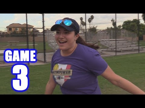 ALONDRA'S FIRST HOME RUN! | Offseason Softball Series | Game 3