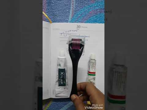Derma roller 0.5mm - acne scars and open pores